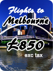 Melbourne Cheapest Fares